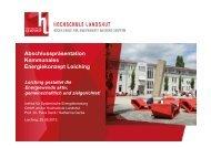 Abschlusspräsentation Kommunales Energiekonzept Loiching