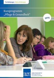 Neues Programm 2014 - Erwin-Stauss-Institut