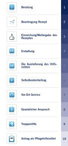 Hilfsmittelwegweiser - Deutscher Seniorenlotse - Seite 3
