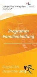 Kursprogramm 2-2013 - fachbereichbildung.de