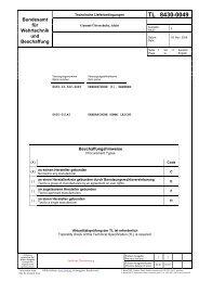 TL 8430-0049 - Bundesamt für Wehrtechnik und Beschaffung