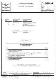 TL 8455-0142 - Bundesamt für Wehrtechnik und Beschaffung