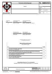 TL 8405-0131 - Bundesamt für Wehrtechnik und Beschaffung