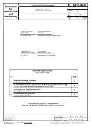 TL 5110-0037 - Bundesamt für Wehrtechnik und Beschaffung