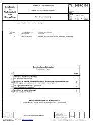 Tape sling - Bundesamt für Wehrtechnik und Beschaffung
