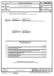 BW TL 7340-0010 - Bundesamt für Wehrtechnik und Beschaffung