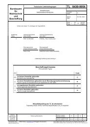 TL 8430-0054 - Bundesamt für Wehrtechnik und Beschaffung