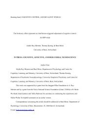 Download (pdf, 232KB) - Center for Cognition, Learning and Memory