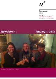 Newsletter 1 January 1, 2013 - Center for Cognition, Learning and ...