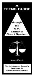A Teens Guide through the NH Criminal Court System - New ...