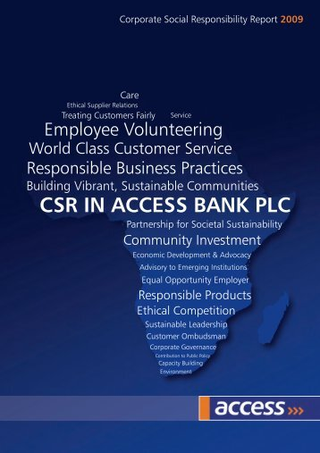 report text - Access Bank