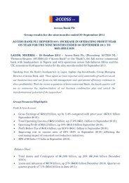 Q3 2011 Press Release.pdf - Access Bank