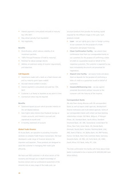 Corporate Social Responsibility Report 2008 As ... - Access Bank