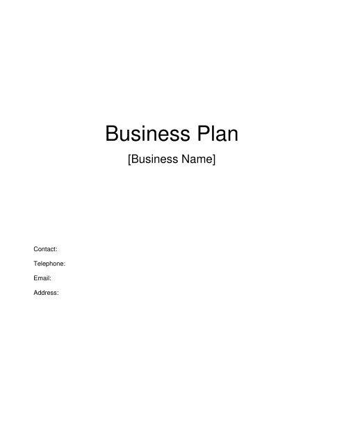 Business Plan - Access Bank