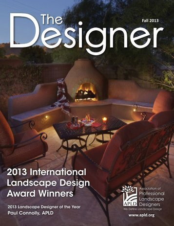 2013 International Landscape Design Award Winners