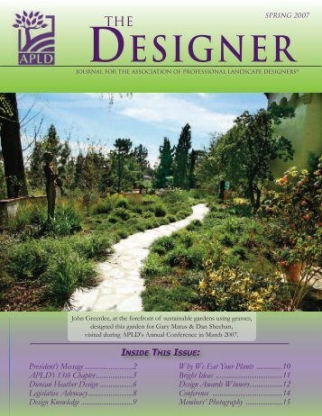 DESIGNER - Association of Professional Landscape Designers
