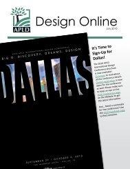 Design Online - Association of Professional Landscape Designers