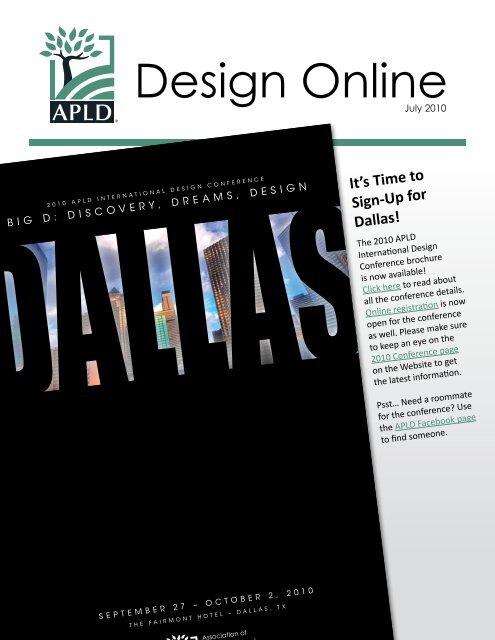 Design Online   Association Of Professional Landscape Designers