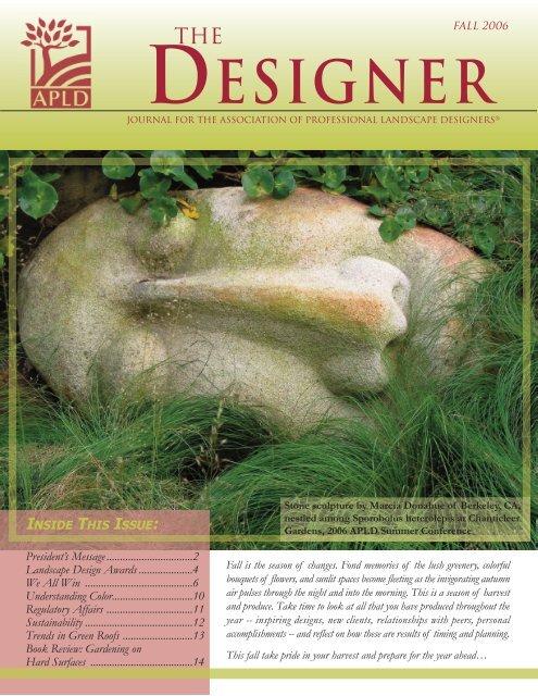 DESIGNER   Association Of Professional Landscape Designers