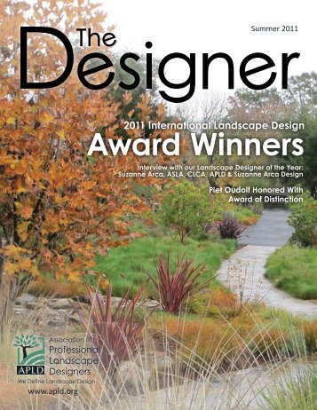 Award Winners - Association of Professional Landscape Designers
