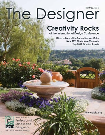 The Designer - Association of Professional Landscape Designers