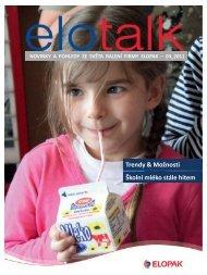 Školní mléko - Elopak