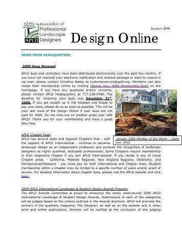 Design Online - Association of Professional Landscape Designers