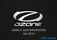 MISES À JOUR IMPORTANTES MAI 2010 - Ozone