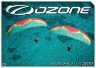 PARAPENTES 2010 - Ozone