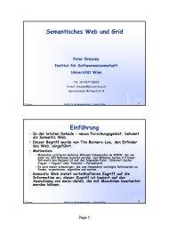 Was ist RDF? - Research Group Scientific Computing - Universität ...