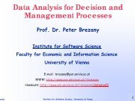 Data Mining - Research Group Scientific Computing