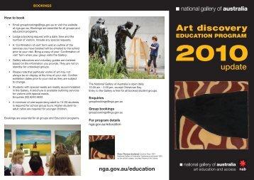 update - National Gallery of Australia