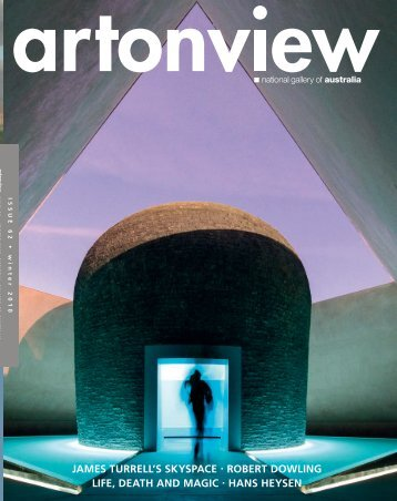 james turrell's skyspace robert dowling life, death and - National ...