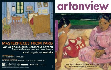 MASTERPIECES FROM PARIS - National Gallery of Australia