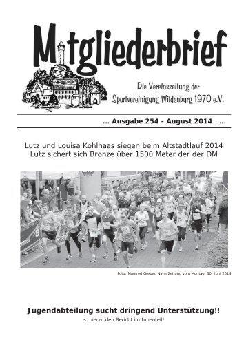 Ausgabe 254 - August 2014