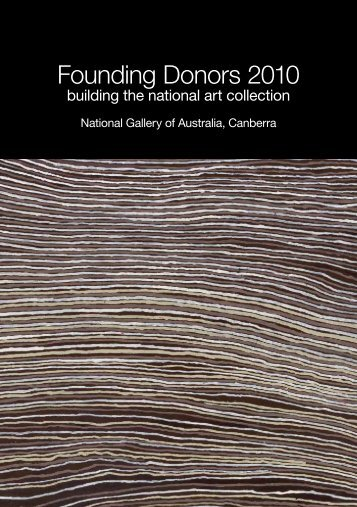 Founding Donors 2010 - National Gallery of Australia