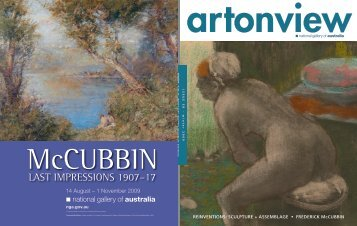 reinventions: sculpture + assemblage • frederick mccubbin