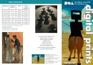 Digital Prints brochure - National Gallery of Australia