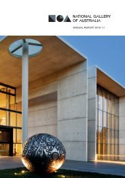 ANNUAL REPORT 2010–11 - National Gallery of Australia