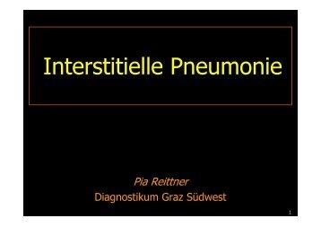 Interstitielle Pneumonie - Diagnostikum Graz