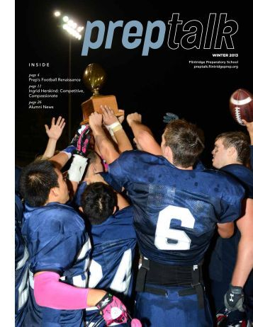 Download the Winter 2013 issue here - Flintridge Prep