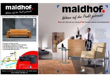 Prospekt - Möbel Maidhof