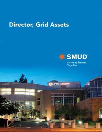 Director, Grid Assets - Sacramento Municipal Utility District