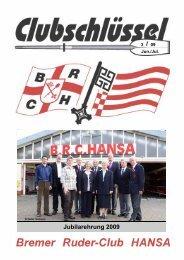 Ausgabe 3/09 - Bremer Ruder-Club HANSA
