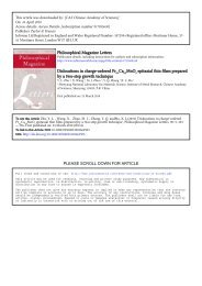Philosophical Magazine Letters Dislocations in charge-ordered Pr0 ...