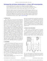 Exchange bias and phase transformation in -Fe 2O3+NiO ...