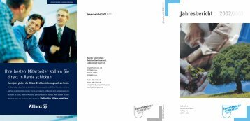 Jahresbericht 2002/2003 - Bund der Selbständigen in Bayern