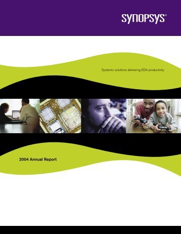 Annual Report Form 10-K Wrap - Synopsys