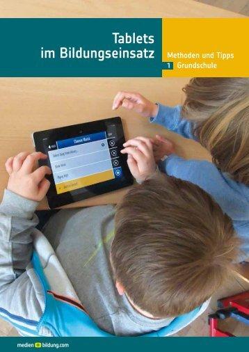 Tablets im Bildungseinsatz
