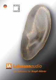 Die Referenz für Kopf-Hörer - Synthax